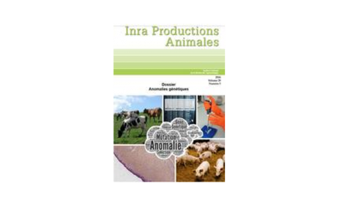 INRA Productions Animales - Volume 29, n°5