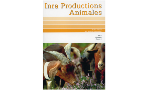 INRA Productions Animales - Volume 30, n°1